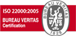 Znak ISO 22000 BUREAU VERITAS Certification