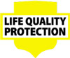 Znak LIFE QUALITY PROTECTION